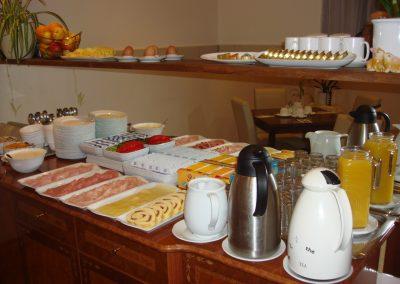 Breakfast Buffet/Pension Liechtenstein